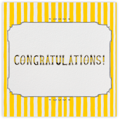 Cirque - Congratulations - Paperless Post - Online Greeting Cards