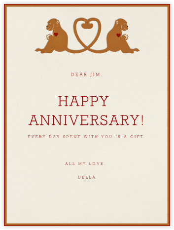 Monkey Love - Paperless Post - Anniversary Cards