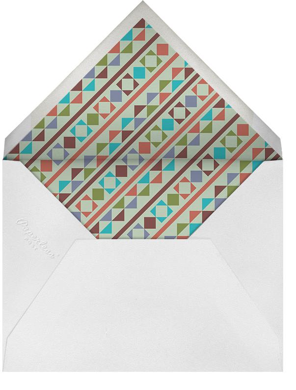 Southwest Thanksgiving - Crate & Barrel - Thanksgiving - envelope back