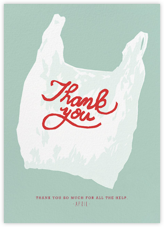 Thank You Plastic - Hannah Berman - Thank you cards