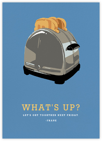 Toaster - Hannah Berman - Just Because Cards