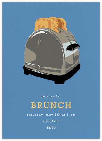 Toaster - Hannah Berman - Brunch invitations