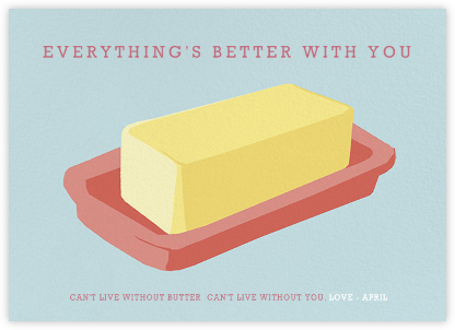 Better Butter - Hannah Berman - Online greeting cards