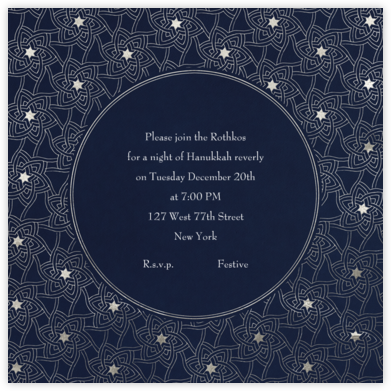 Hanukkah - Paperless Post - Hanukkah Invitations