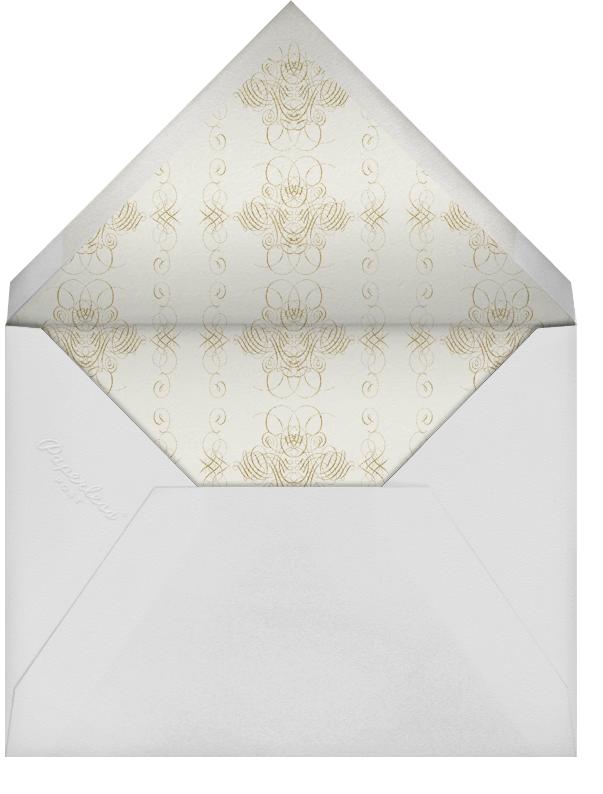 Shanah Tova - Plum - Bernard Maisner - Rosh Hashanah - envelope back