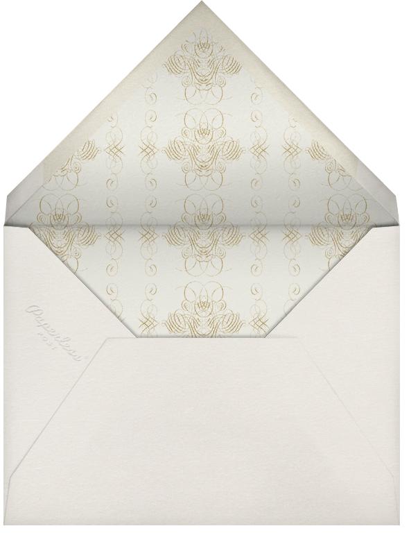 Shanah Tova - Cream - Bernard Maisner - Rosh Hashanah - envelope back