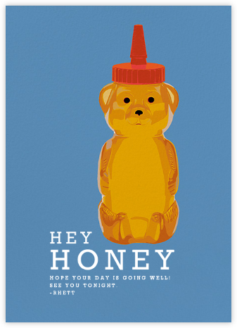 Honey Bear - Hannah Berman - Just because cards