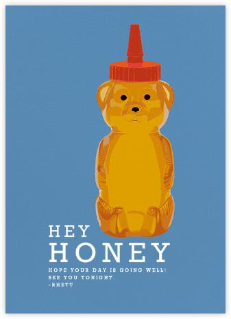 Honey Bear - Hannah Berman - Just Because Cards