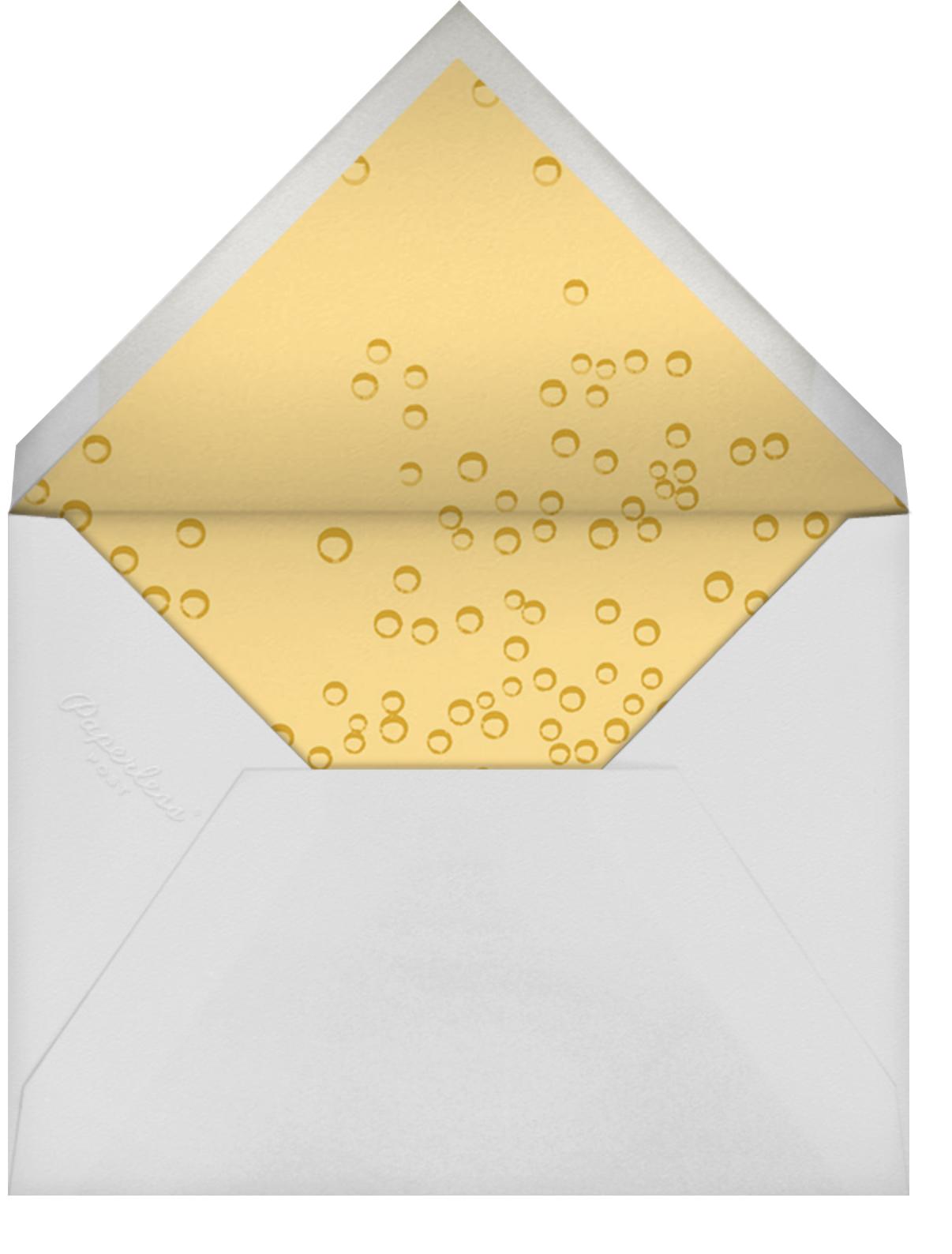Pop the Bubbly - Hannah Berman - Birthday - envelope back