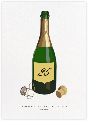 Pop the Bubbly - Hannah Berman - Online greeting cards