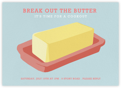 Better Butter - Hannah Berman - Barbecue and picnic invitations