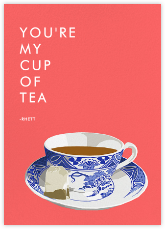 Cup of Tea - Hannah Berman - Valentine's day cards