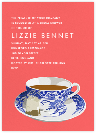 Cup of Tea - Hannah Berman - Bridal shower invitations