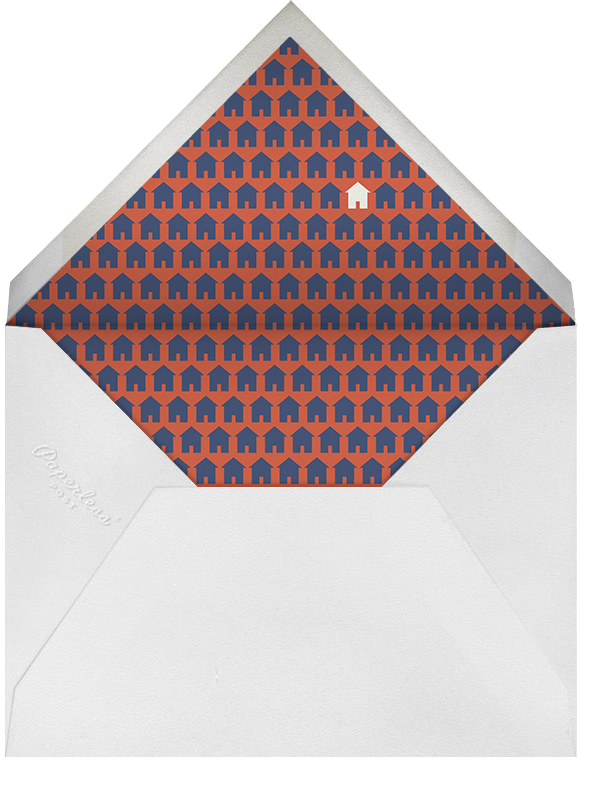 A Humble Housewarming - Derek Blasberg - Housewarming - envelope back