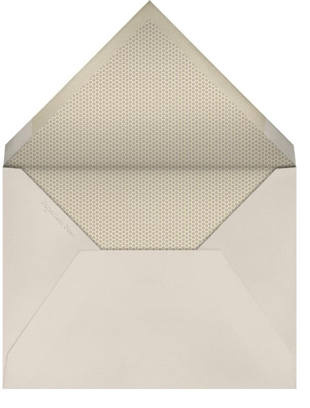 Party in the Bush - Derek Blasberg - Bachelor party - envelope back