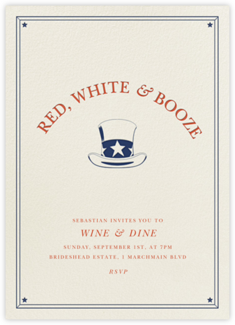 Red White and Booze - Derek Blasberg -