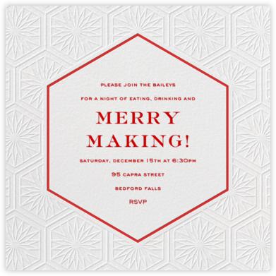 Positano - Blind - Jonathan Adler - Holiday invitations