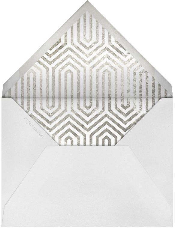 Santorini - Silver - Jonathan Adler - New Year's Eve - envelope back