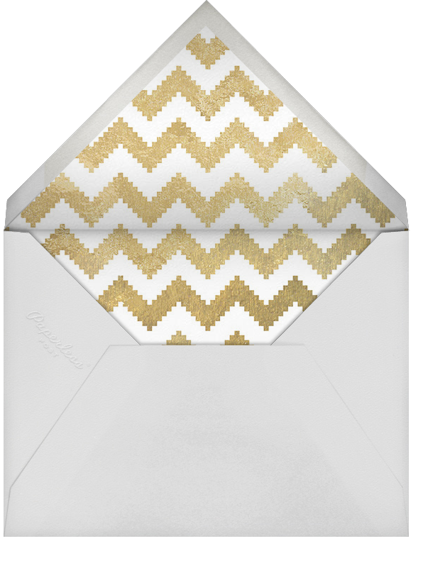 Peace and Love - Jonathan Adler - Holiday cards - envelope back