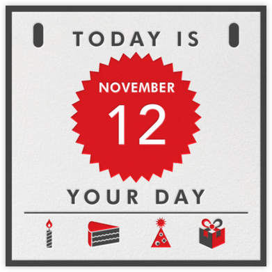 Today Is - A Special Day - Paperless Post -
