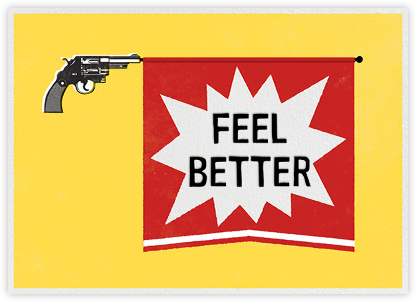 Bang Gun - Get Well - Paperless Post - Get well cards