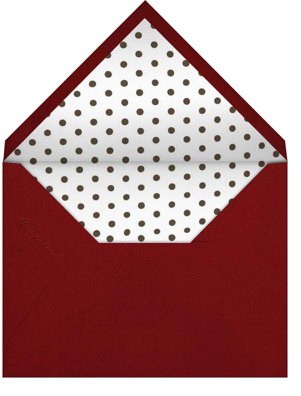 Monkey Love - Paperless Post - Envelope