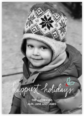 Holiday Holly (Full Bleed) - Linda and Harriett -