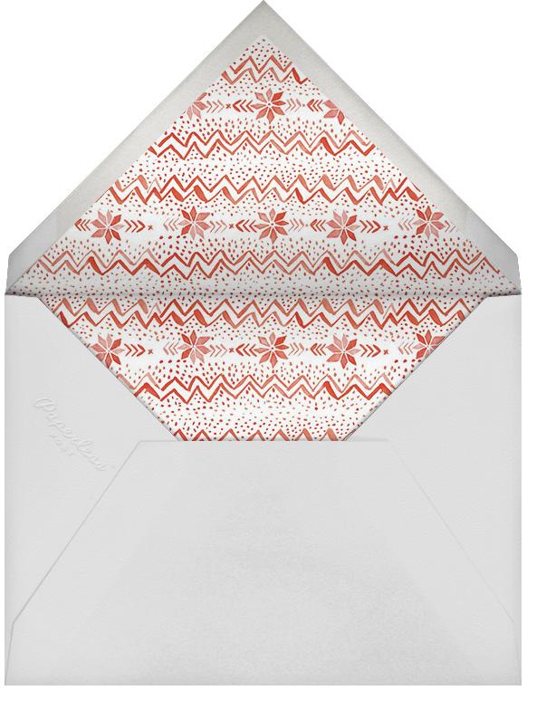 Merry Christmas Everyone - Linda and Harriett - Christmas - envelope back