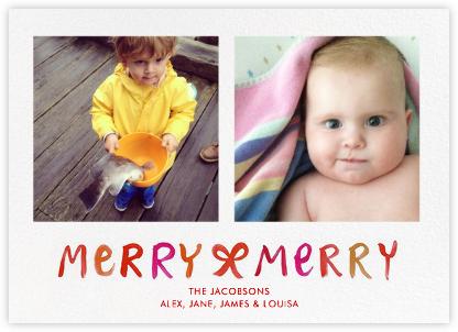 Merry Merry Ombre - Linda and Harriett -