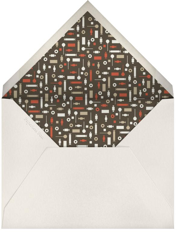 Pinata Partay - Derek Blasberg - Adult birthday - envelope back