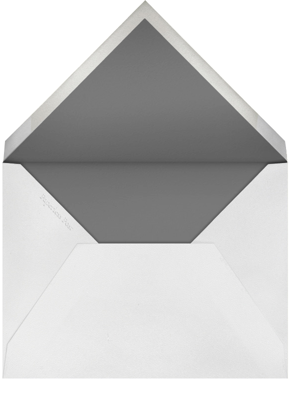 Going to the Chapel - Silver - Paperless Post - Address collection cards - envelope back