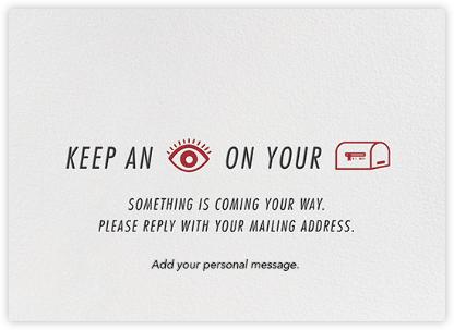 Mailbox Eye - Paperless Post -