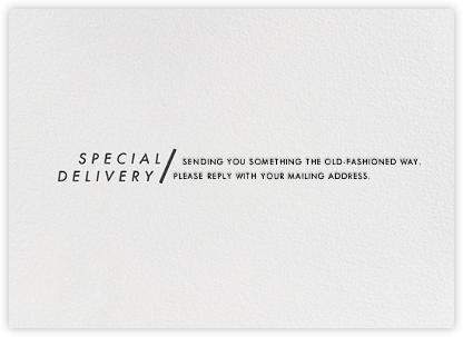 Modern Slant - Ivory - Paperless Post -