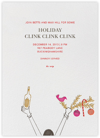 My Stocking is Filled with Gold - Camel - Mr. Boddington's Studio - Holiday invitations