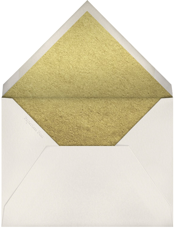 The Classic - Gold - Paperless Post - Address collection cards - envelope back