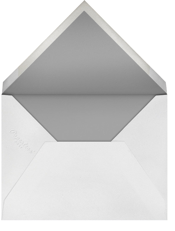 The Classic - Black - Paperless Post - Envelope