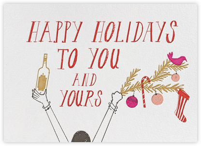 Ready for Santa - Lipstick - Mr. Boddington's Studio - Holiday Cards