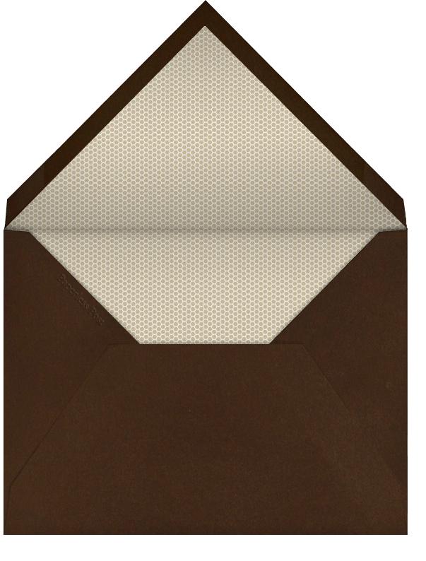 Country Bumpkin Couture - Derek Blasberg - Western party invitations - envelope back