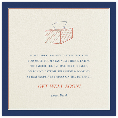 Get Better Faker - Derek Blasberg - Get well cards