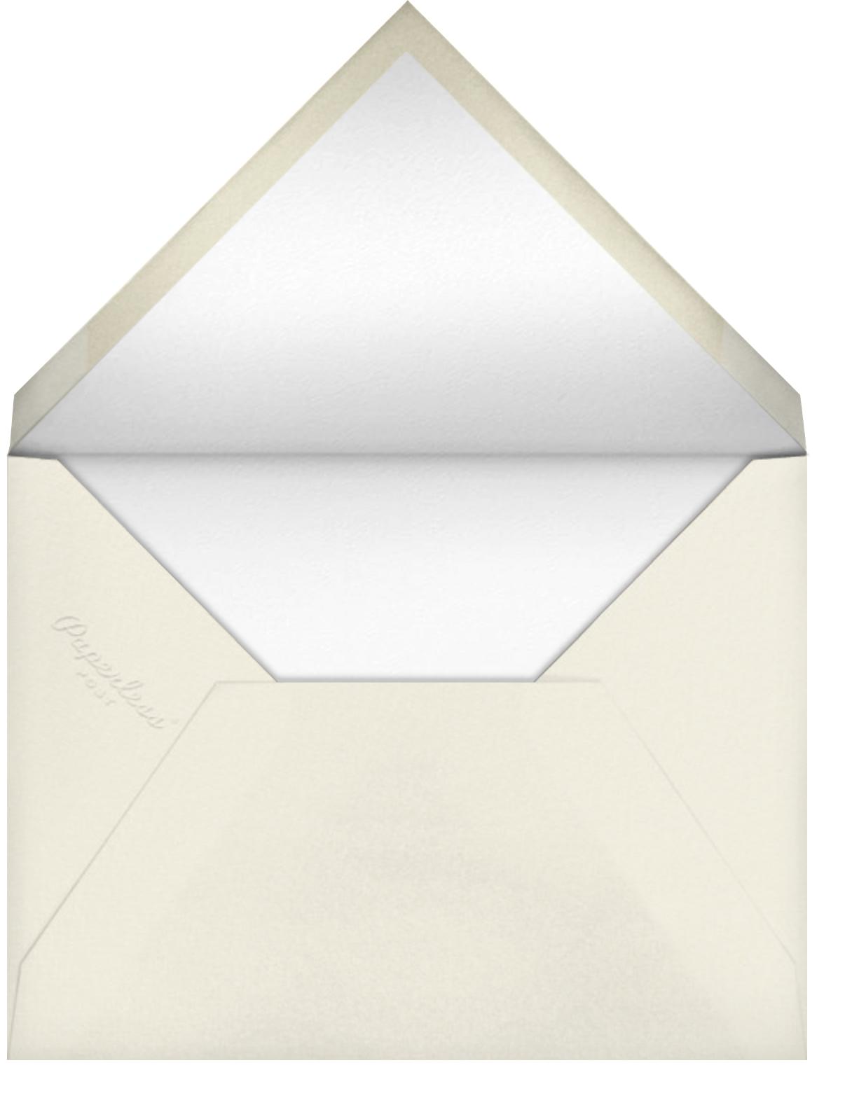 My Birthday, My Imbibing - Derek Blasberg - null - envelope back