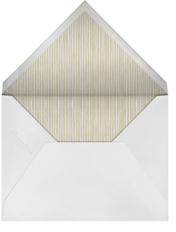 Holly Go Brightly Postcard - Metallics - Paperless Post - null - envelope back