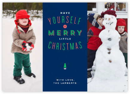 Christmas in St. Louis - Double Photo - Paperless Post -