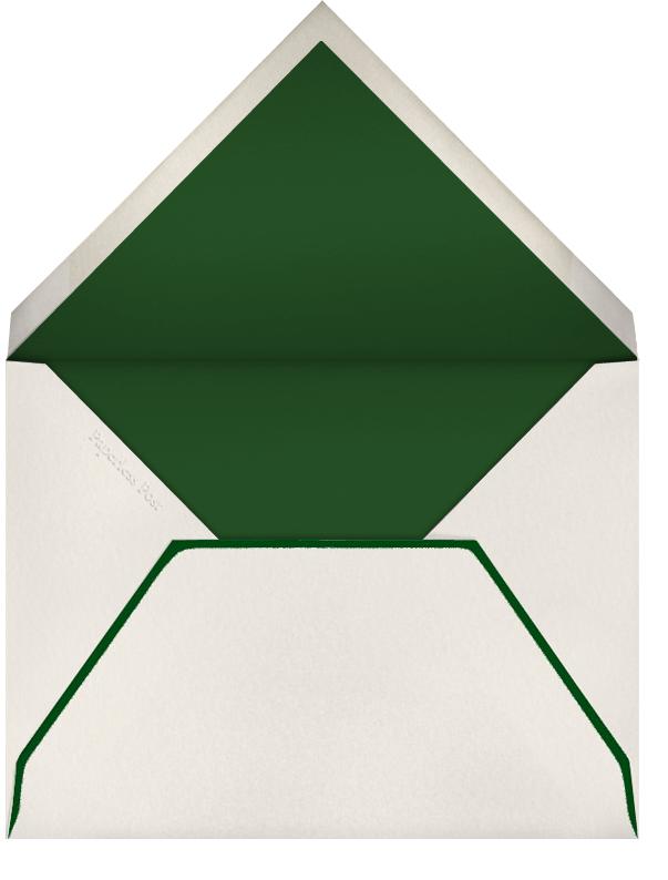 Winter Greenery - Paperless Post - Envelope