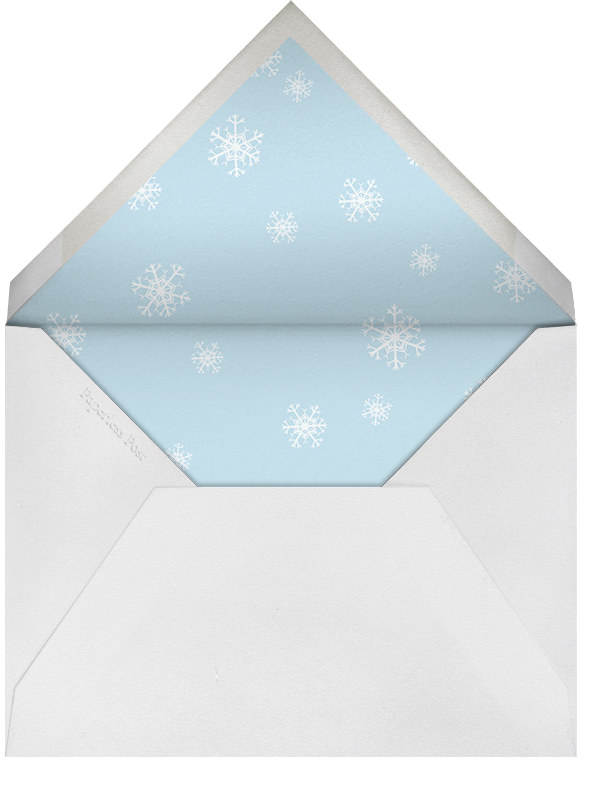 Let It Snowflake - Paperless Post - null - envelope back
