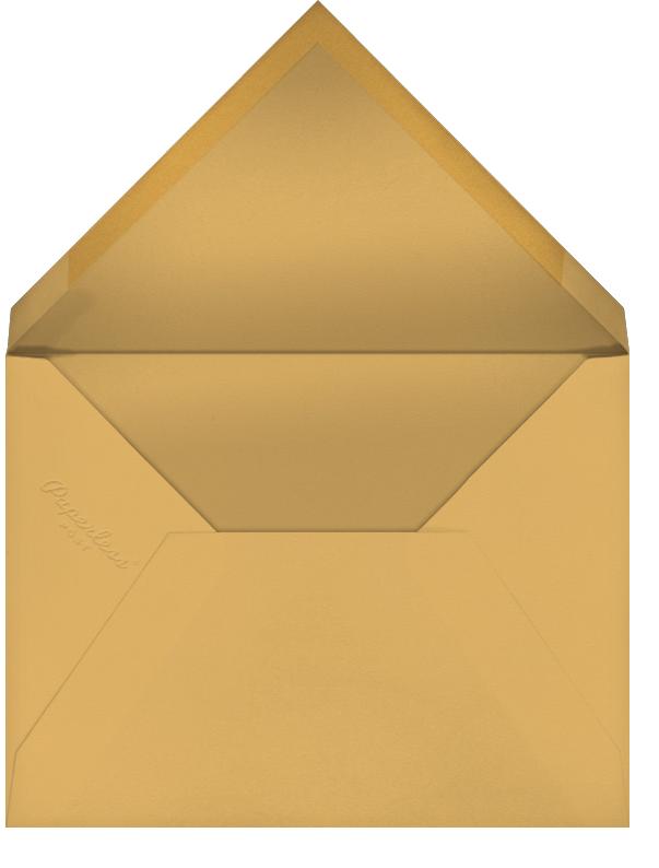 Chalet Ballet - Paperless Post - Holiday cards - envelope back