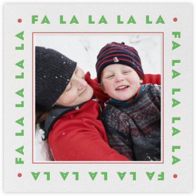 Fa La La La La - Paperless Post -