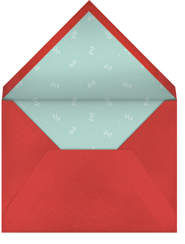 A Very Important Date - Paperless Post - Holiday save the dates - envelope back