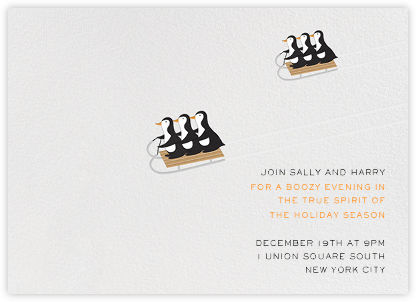 Cool Runnings - Paperless Post - Winter Party Invitations
