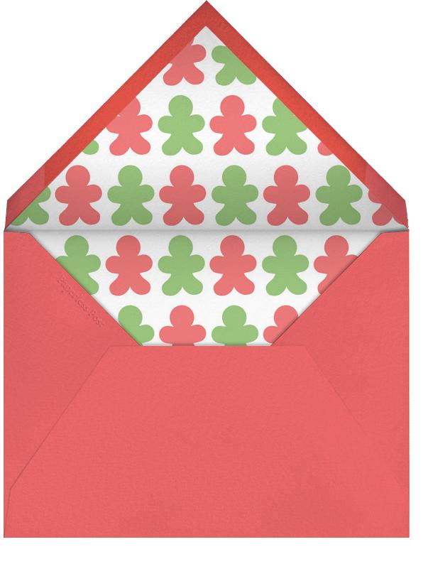 Sweet Exchange - Crate & Barrel - Holiday party - envelope back