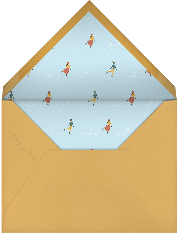 Frosty Pond - Paperless Post - Winter parties - envelope back